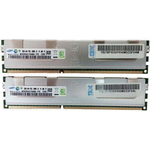 EM4D-8202 - IBM 720 Power7 E4D, 64GB (2x32GB) Memory DIMMs