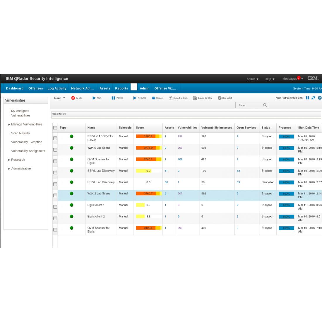 SIEM Security | QRadar Appliance 3129 | AI Security Automation