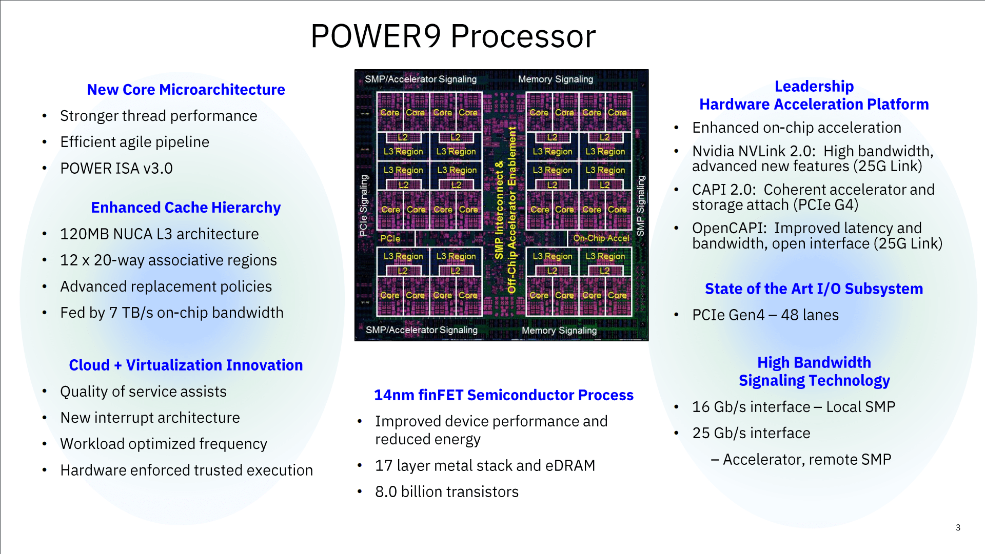 IBM POWER8 vs. POWER9 Comparison for 2020